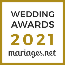Domaine de Clairval, gagnant Wedding Awards 2021 Mariages.net